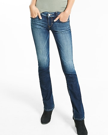 low rise barely boot jeans