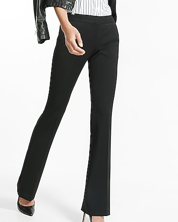 columnist low rise slim flare pant