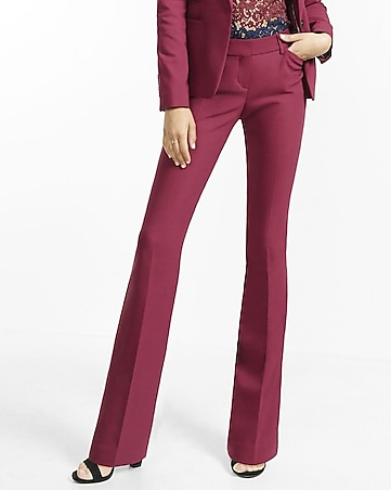 blue steel low rise barely boot editor pant