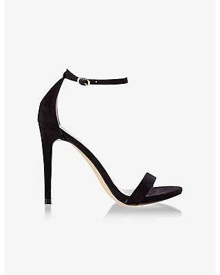 Express Womens Sleek Heeled Sandal