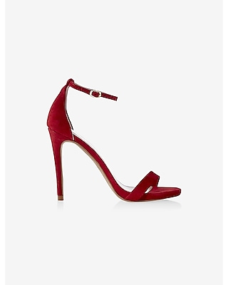 sleek heeled sandal