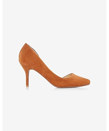 pointed toe d'orsay pump