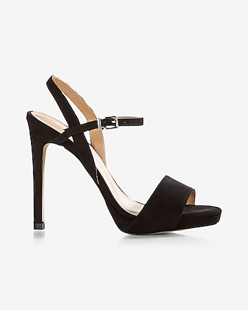slim platform stiletto sandal