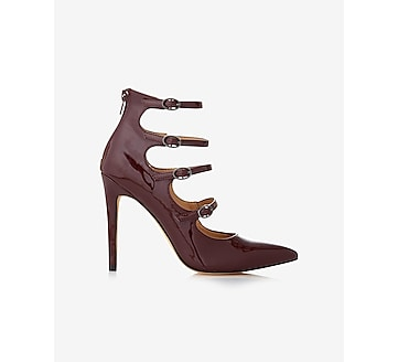 strappy pointed toe sandal