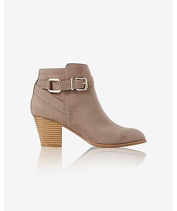 buckle ankle boot