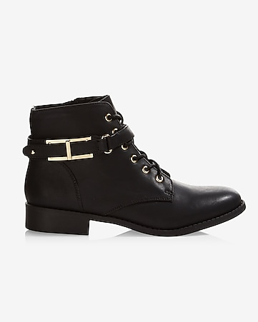 side zip combat bootie
