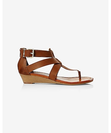 mini wedge sandal
