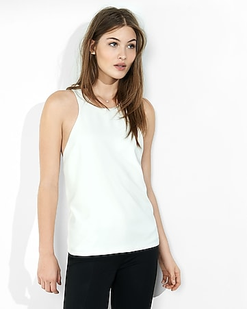 cut-out back tank
