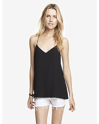 EXPRESS Women's Camis Barcelona Cami Black Large
