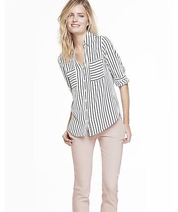 original fit striped portofino shirt