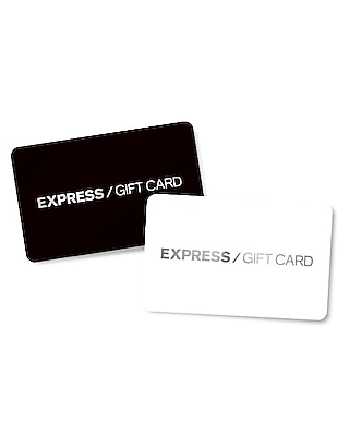 Express Unisex Black/black - Gift Card