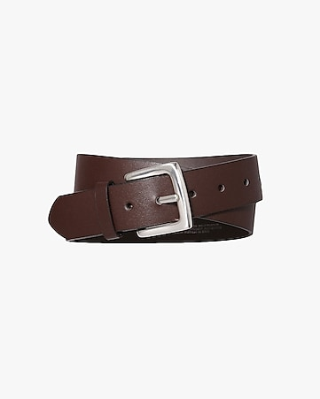 square buckle casual belt