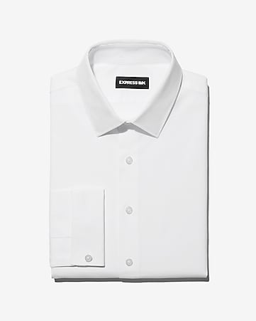 EXTRA SLIM 1MX STRETCH COTTON SHIRT - TRUE WHITE