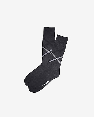 DOUBLE X DRESS SOCKS