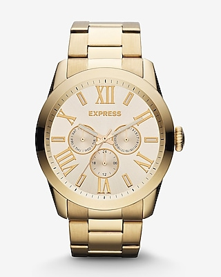 MULTI-FUNCTION WATCH - GOLD