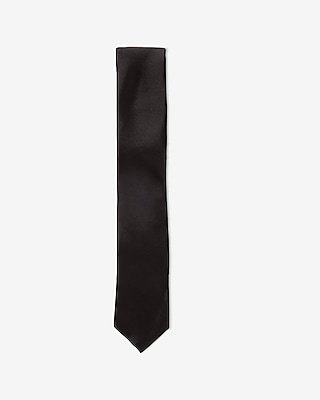 TALL SKINNY SILK TIE - SOLID