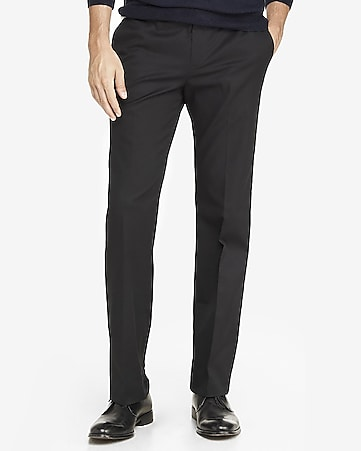 stretch cotton producer dress pant