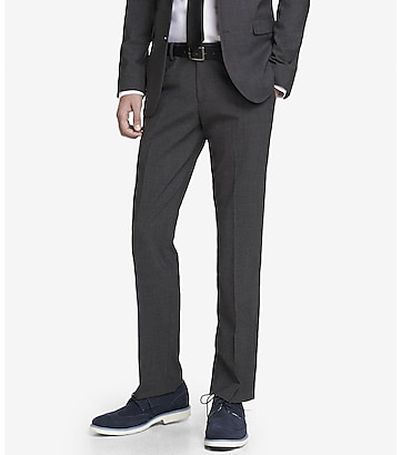 TRAVELER COLLECTION WRINKLE RESISTANT SUIT PANT