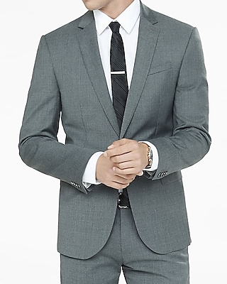 GRAY PHOTOGRAPHER SUIT JACKET