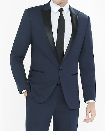 color block producer tuxedo jacket