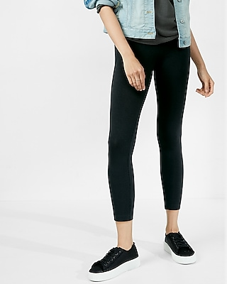 EXPRESS Women's Leggings Sexy Stretch Cropped Legging