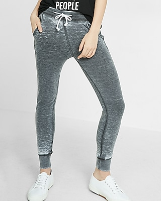 LOW RISE DESTROYED ANKLE JEAN LEGGING