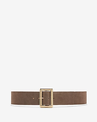 Rectangle Buckle Belt by Express