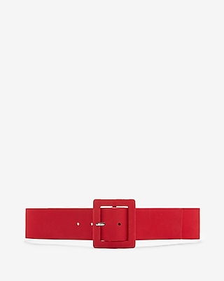 Covered Rectangle Buckle Belt by Express