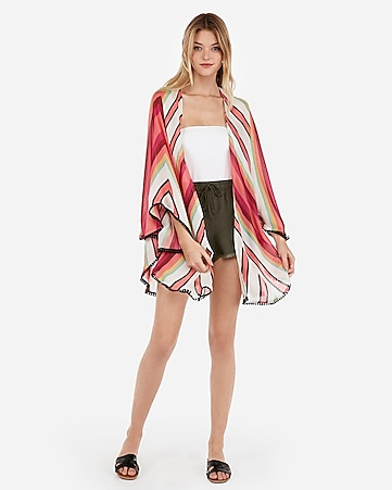 82a2c30e71 Express View · chevron stripe v-back cover-up