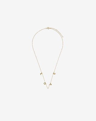 Fine Bar Pendant Necklace by Express