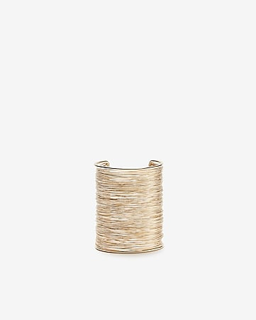 Wide Wrapped Cuff Bracelet by Express