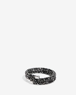 Rock Glitter Coil Bracelet by Express