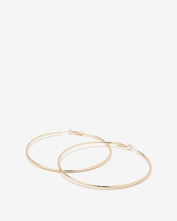 09215c43979 Express View · large metal hoop earrings