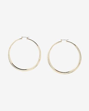 232ec64b4 Express View · large tube hoop earrings