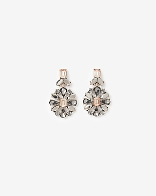 Stone Burst Drop Earrings by Express