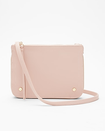 Express View · double zip crossbody bag db19d0d872