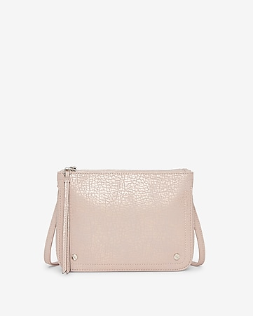 Express View · double zip crossbody bag bfa8d0e197cb7