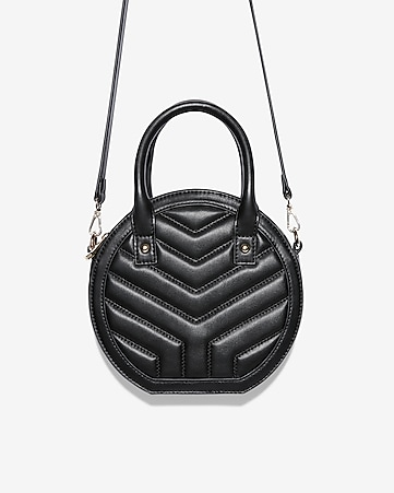 d41d5740a8 EXPRESS VIEW. chain detail quilted shoulder bag.  49.90.  49.90. quilted circle  crossbody bag