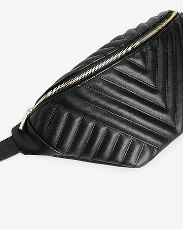 a98330dcc06ebe Express View · oversized quilted belt bag. MICHAEL KORS Michael Michael  Kors Rhea Zip Pyr Stud Belt Bag. #michaelkors #bags #leather ...
