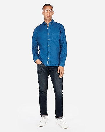 c4dcc89519d Men s Shirts - Soft Wash Casual Shirts for Men - Express