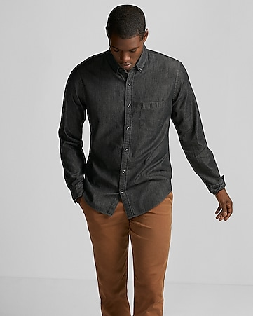 Men's Denim Shirt - 40% Off Everything!