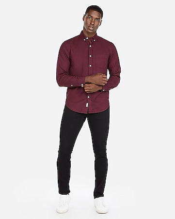 7110d1609cd Express View · classic soft wash button-down oxford shirt