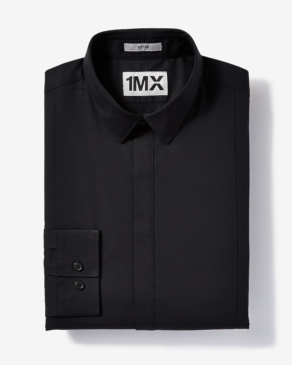 Fitted Dress Shirts Shop Mens Fitted Shirts Express