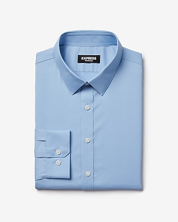 e6e798a6ea9f Express View · extra slim solid wrinkle-resistant performance dress shirt