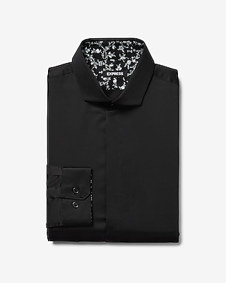 Men S Dress Shirts Solid Patterned Dress Shirts Express