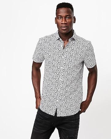 1312b568002 Men's Shirts - Short Sleeve Button Up Shirts - Express