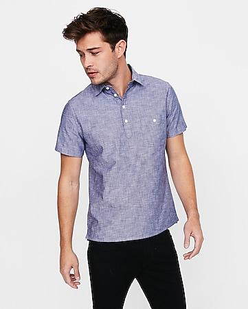 Men's Short Sleeve Shirts - Short Sleeve Shirts