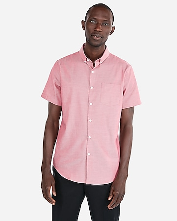 b8fbe43c3 Men s Shirts - Short Sleeve Button Up Shirts - Express