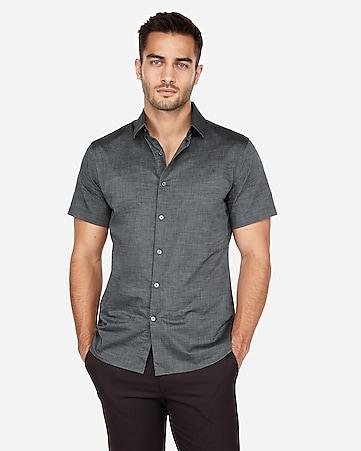 c1367405214c2 Men s Shirts - Short Sleeve Button Up Shirts - Express