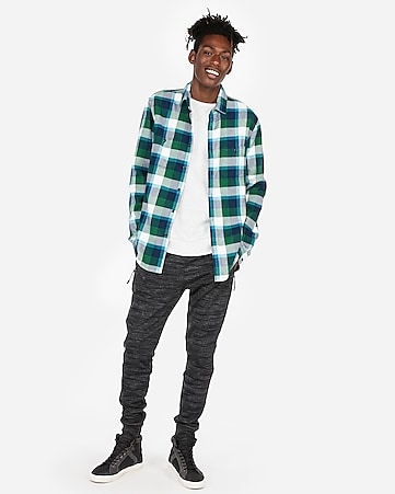 1c135fabb52f Express View · plaid flannel shirt